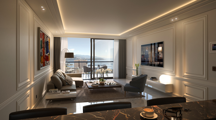 Park Palace: renovated apartment, sea view