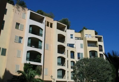 Fontvieille: Studio in very quiet area