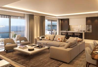 Lumineux appartement de luxe vue mer - La Réserve