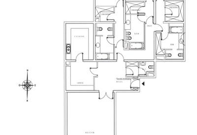 3 bedroom apartment in Memmo Center