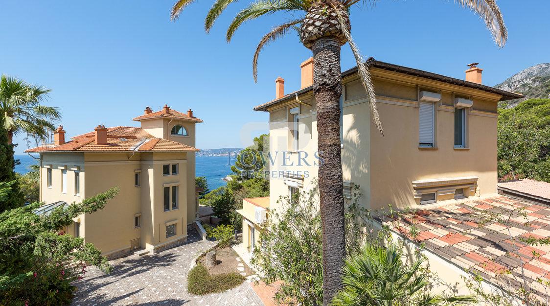 Belle Epoque Villa featuring a large guest house