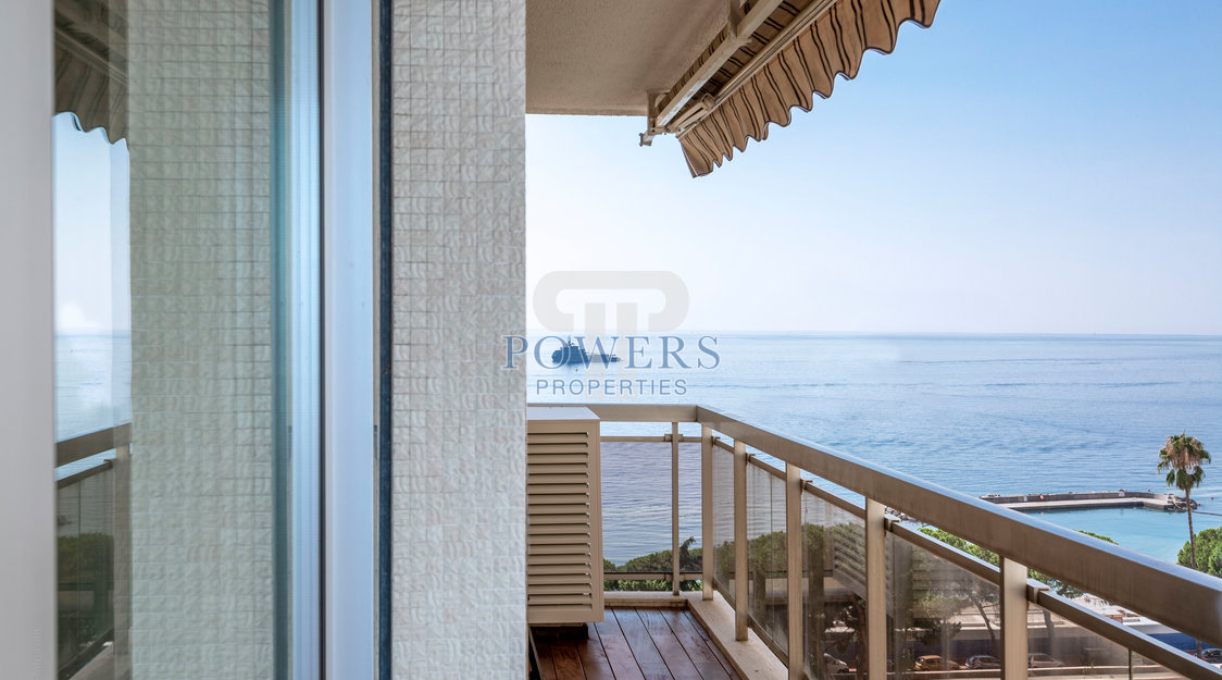 3 bedroom apartment with sea view in Larvotto - San Juan