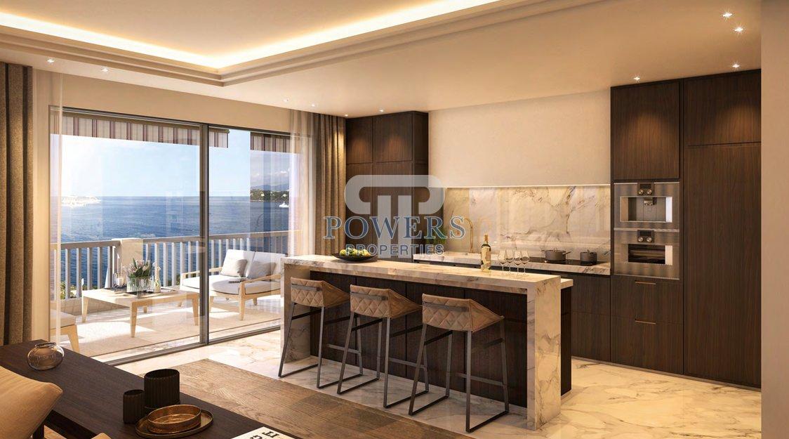 Bright luxury sea view apartment - La Réserve