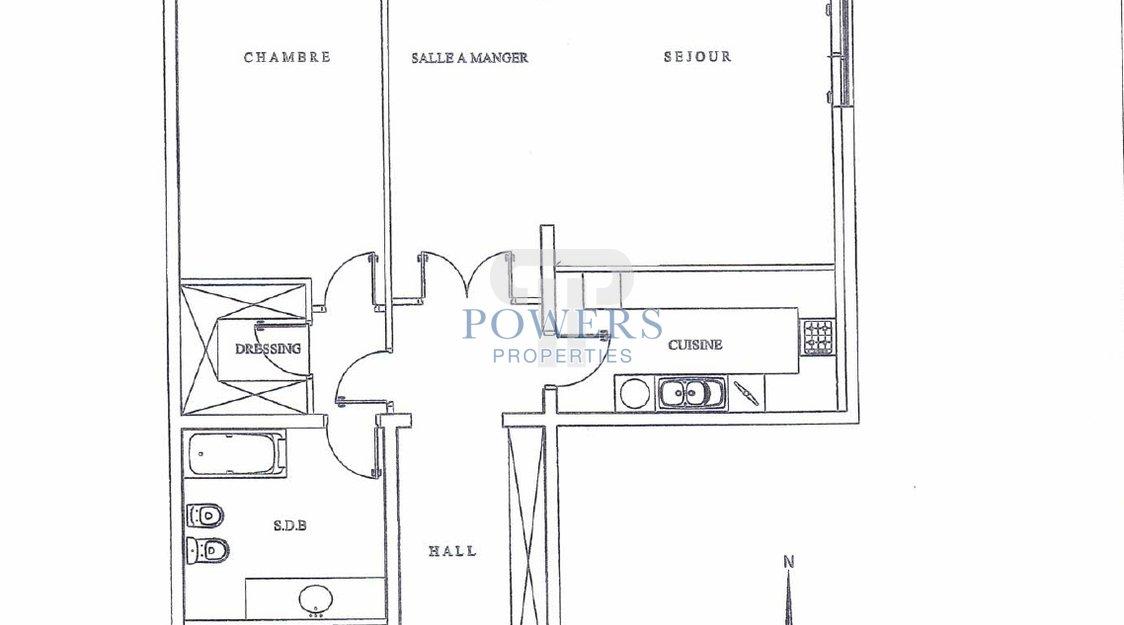1 bedroom apartment - Memmo Center