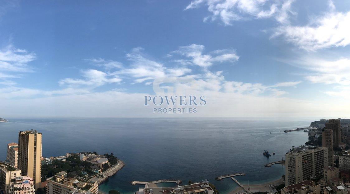 Vue panoramique mer - 2 pièces rénové - moderne