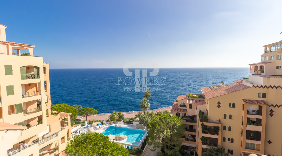 Duplex penthouse at Cyclades in Fontvieille