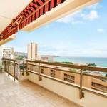 3 bedroom apartment with terrace and sea view - Château Amiral - 11