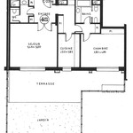 1 bedroom apartment with terrace and private garden - Roc Fleuri - 1