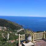 Eze proche village, belle villa rénovée vue mer - 1