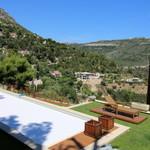Eze proche village, belle villa rénovée vue mer - 8